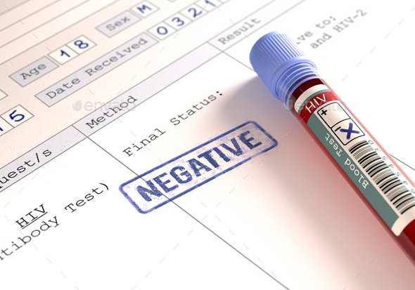 HIV Negative - Stock Photo - Images