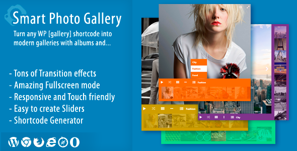 Smart Photo Gallery - Responsive WordPress Plugin - CodeCanyon Item for Sale