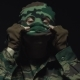 Soldier in Camouflage Takes Off His Military Mask - VideoHive Item for Sale