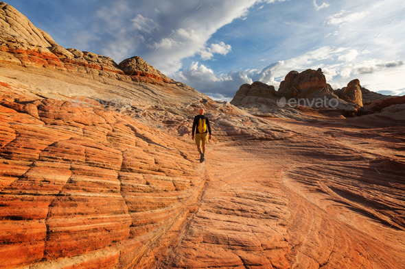 Hike in Utah - Stock Photo - Images