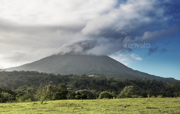 Arenal volcano - Stock Photo - Images
