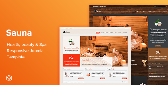 Sauna - Health, Beauty & Spa Responsive Joomla Template
