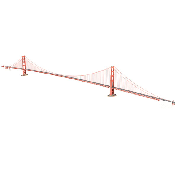 Golden Gate Bridge - 3DOcean Item for Sale
