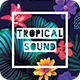 Tropical Sound Flyer - GraphicRiver Item for Sale