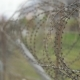 Barbed Wire Fence at the Airport - Georgia - VideoHive Item for Sale