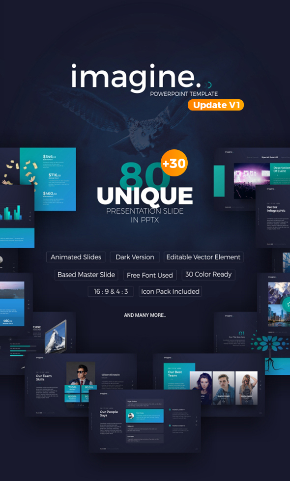 Imagine powerpoint template by brandearth graphicriver imagine powerpoint template toneelgroepblik Image collections