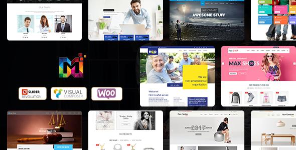 Maximum - Multi-Purpose Responsive WordPress Theme