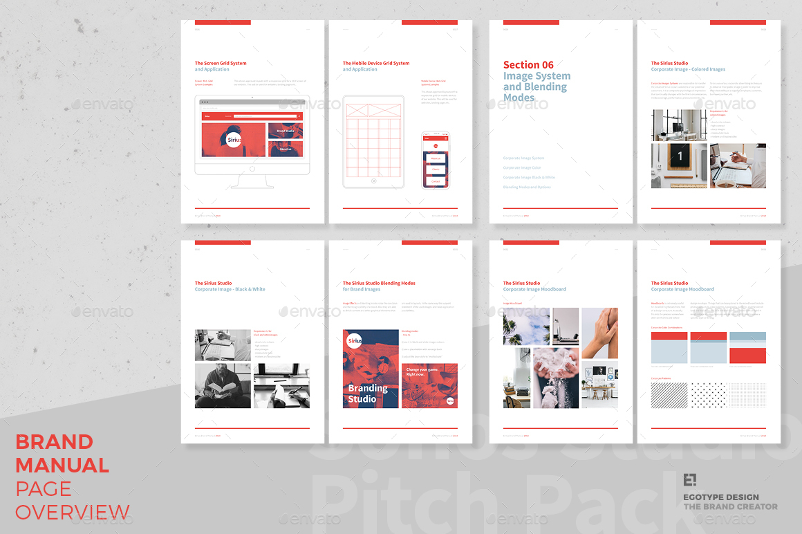 Brand Manual By Egotype