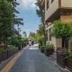 Street of Old Traditional Turkish Houses of Antalya City  Hyperlapse. Turkey - VideoHive Item for Sale