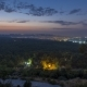 A Bird's Eye View Before Sunrise Over Antalya Night To Day. Turkey. - VideoHive Item for Sale