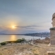 Hidirlik Tower in Kas Town in Antalya  with View of Harbor Marine Bay Is a Old City - VideoHive Item for Sale