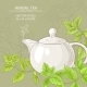 Peppermint Tea in Teapot
