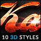 10 3D Styles vol. 05 - GraphicRiver Item for Sale