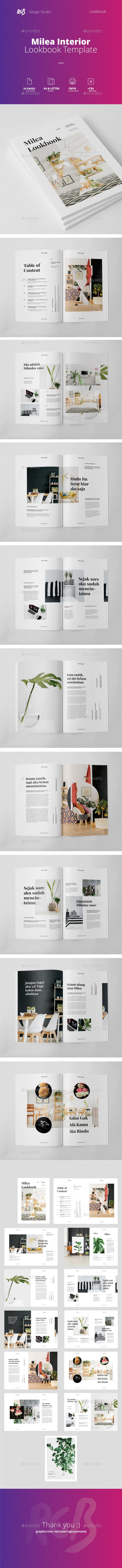 Milea Lookbook / Catalog - Catalogs Brochures