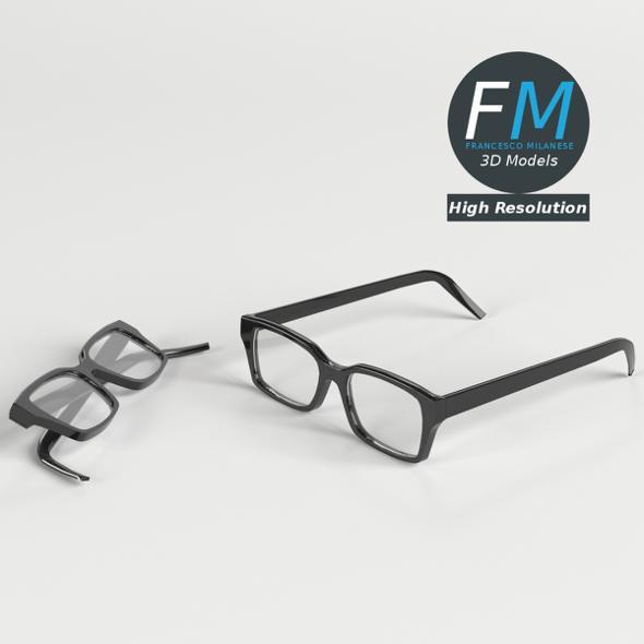 Glasses HR - 3DOcean Item for Sale