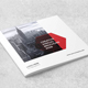Square Clean Annual Brochure - GraphicRiver Item for Sale