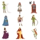 Medieval People Characters of European Middle Ages - GraphicRiver Item for Sale