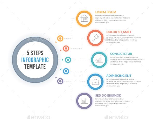 5 Steps Infographics - Infographics