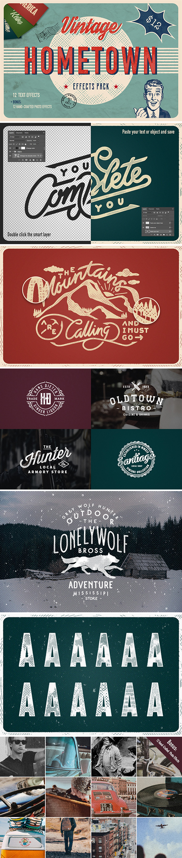 Hometown Effects Pack - Text Effects Actions