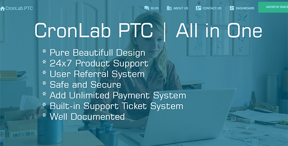 CronLab PTC | All in One Script for PTC, HyIp, Crypto Trade & Money Investment - CodeCanyon Item for Sale