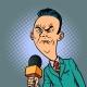 Wrinkled Nasty Bad Reporter Correspondent