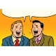 The Two Friends Laugh - GraphicRiver Item for Sale