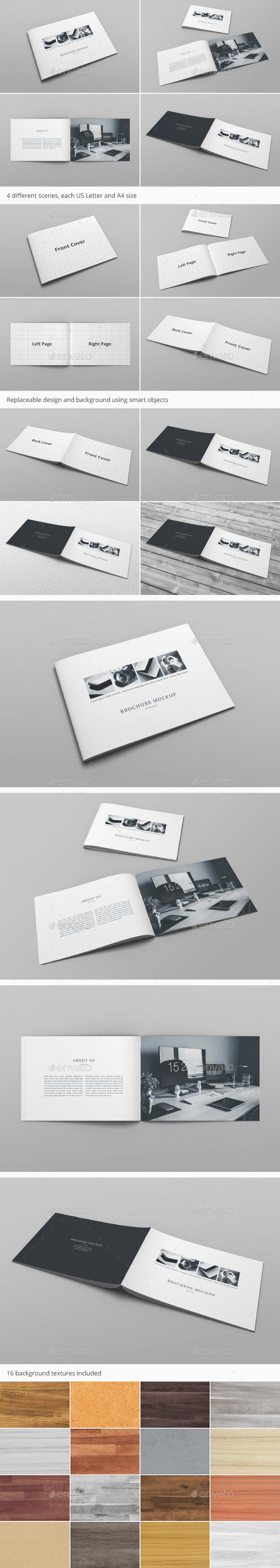Brochure Catalog Mockup Vol. 1 - Brochures Print