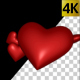 Red Hearts Transition - VideoHive Item for Sale