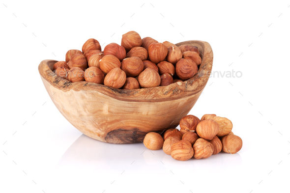 Macadamia nuts - Stock Photo - Images