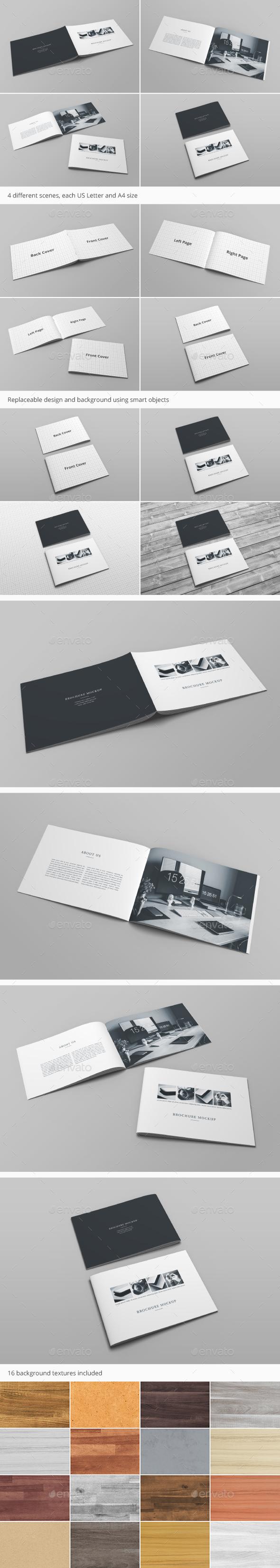 Brochure Catalog Mockup Vol. 3 - Brochures Print