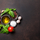 Tomatoes, basil, olive oil and spices - PhotoDune Item for Sale