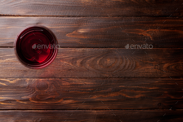 Red wine glass - Stock Photo - Images