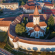 Aerial view of Prejmer fortified Church. Brasov, Romania - PhotoDune Item for Sale