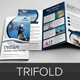 Travel Agency Trifold Brochure Design v4 - GraphicRiver Item for Sale