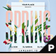 Spring Flyer & Poster Template - GraphicRiver Item for Sale