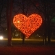 Red Glowing Heart in a Roundabout - VideoHive Item for Sale