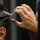 Man Is Cut in a Hairdresser's - VideoHive Item for Sale
