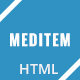 Meditem - One Page Health & Medical HTML Template