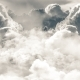 Flying Above the Clouds During the Day - VideoHive Item for Sale