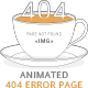 Animated 404 Error Page - GraphicRiver Item for Sale