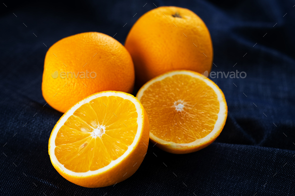 Sweet fresh oranges - Stock Photo - Images