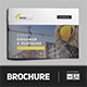 Construction Building Brochure Template - GraphicRiver Item for Sale