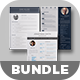 3 Resume/CV Bundle - GraphicRiver Item for Sale