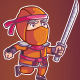 Ninja Game Sprite - GraphicRiver Item for Sale