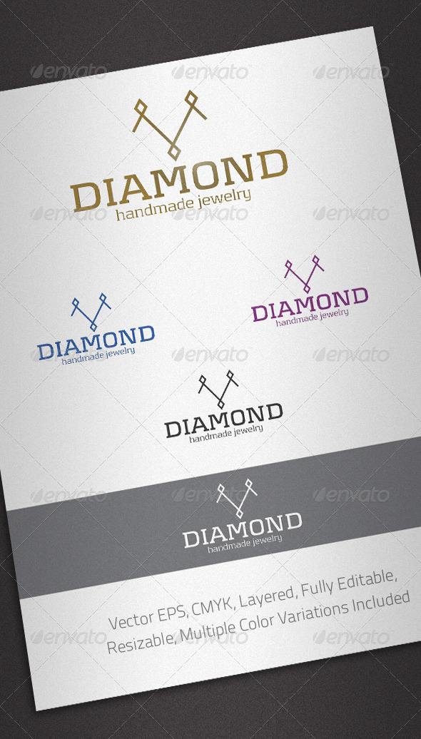 Diamond Logo Template - Objects Logo Templates