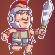 Teuton Game Sprite - GraphicRiver Item for Sale