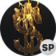 Dollar Sign On Fire - VideoHive Item for Sale