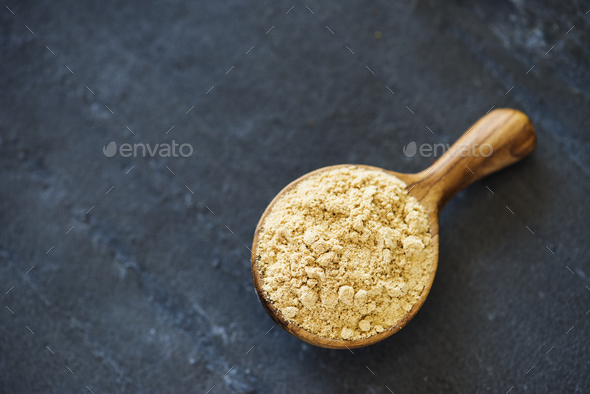 Closeup of spice power texture - Stock Photo - Images