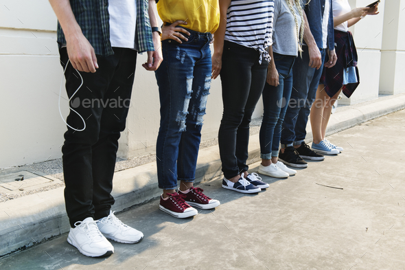 Young adult friends youth culture concept - Stock Photo - Images