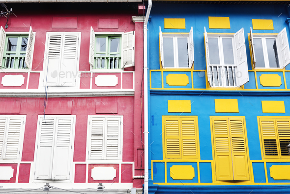 Colorful apartment - Stock Photo - Images